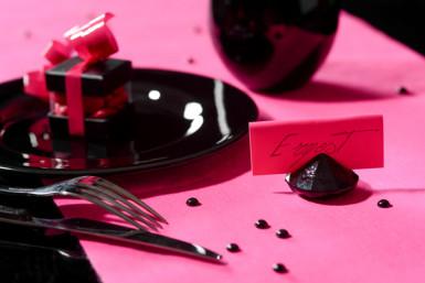 4 Marques-places diamants noirs-1