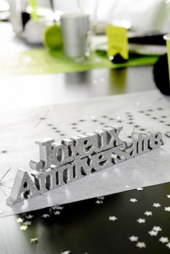 Décoration lettres Joyeux Anniversaire  -1
