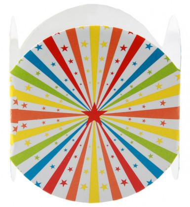 6 Ronds de serviette Cirque