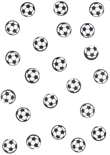 150 confettis de table ballon de foot-1