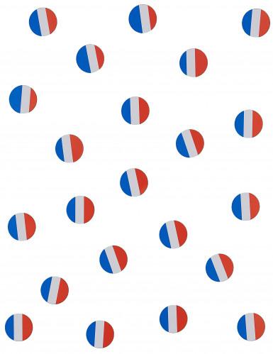 150 confettis de table drapeau France-1