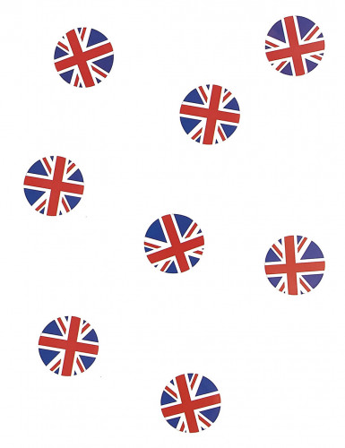 150 confettis de table drapeau Royaume-Uni