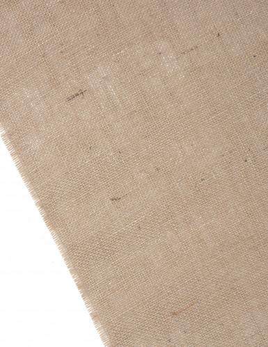 Chemin de table en toile de jute naturelle 30 cm x 5 m-1