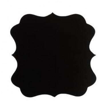 6 Etiquettes noires adhésives façon ardoise