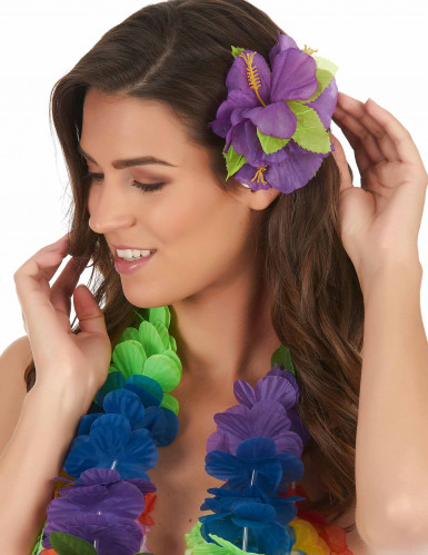Barrette fleur violette hawa - Image fleur violette gratuite ...