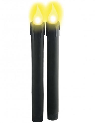 Bougies lumineuses noires LED