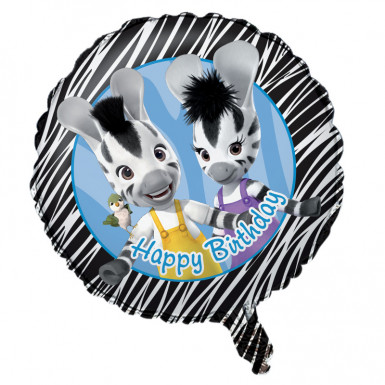 Ballon aluminium Happy Birthday Zou™