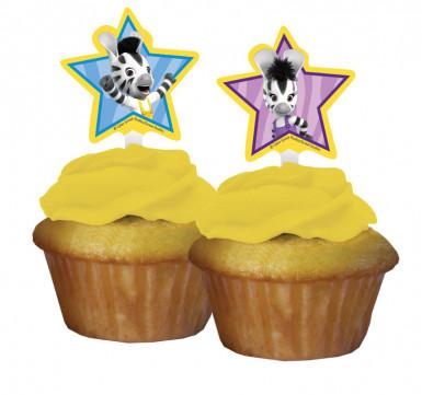 12 Décorations pour cupcakes Zou™