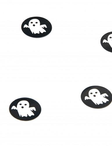 150 Confettis de table en papier fantômes Halloween