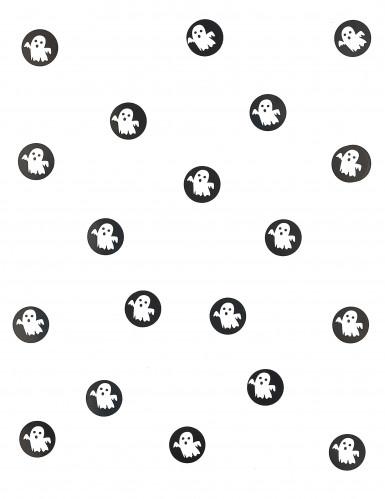 150 Confettis de table en papier fantômes Halloween-1