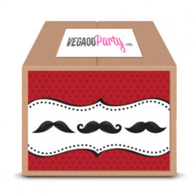 Maxi Pack anniversaire Moustache