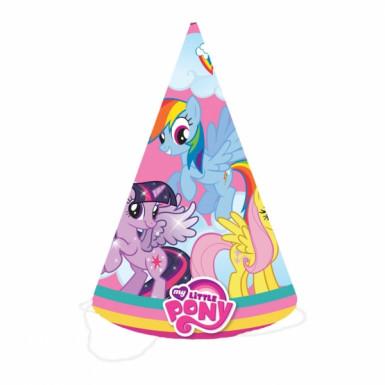 8 Chapeaux de fête Mon Petit Poney™