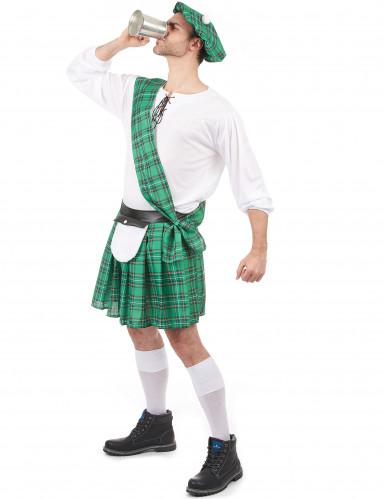 Déguisement Écossais vert homme-1