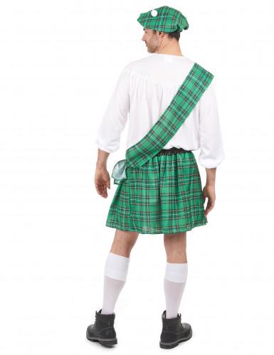 Déguisement Écossais vert homme-2