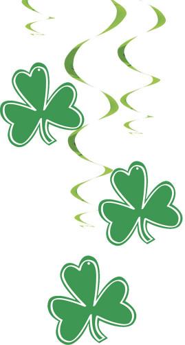 3 Décorations à suspendre Saint Patrick