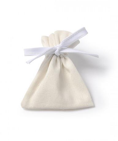 6 Sachets coton ivoire