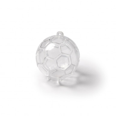 3 Contenants Ballons de foot 5 cm