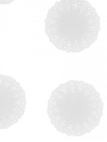 10 Petits napperons en papier dentelle 11.5 cm-1