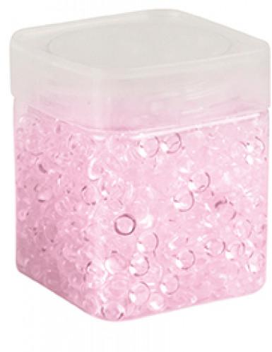 Pot perles de pluie rose 120 grammes-1