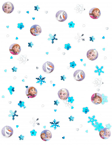 Confettis de table La Reine des neiges™ 2,5 cm-1