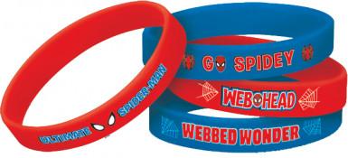 Bracelets en caoutchouc Spider-Man ™