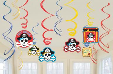 Lot de suspensions Sourire de Pirate