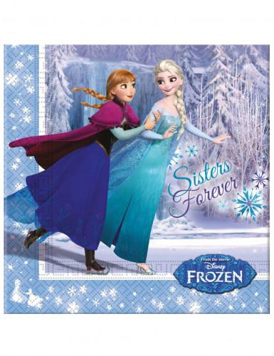 Classic Pack anniversaire La Reine des Neiges™ bleue-1
