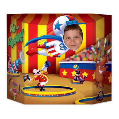 Passe-tête Cirque 94 x 64 cm