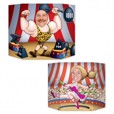 Passe tête Couple de Cirque