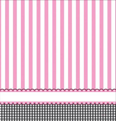 Nappe en plastique Pieds roses 137 x 264 cm