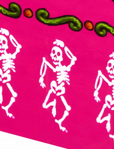 Nappe plastique Dia de los Muertos-1