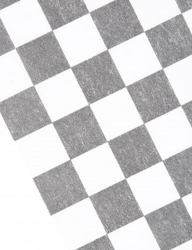 Chemin de table intissé damier 27 cm x 5 m-1