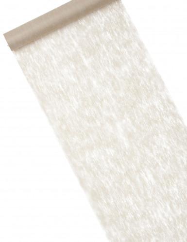 Chemin de table intissé taupe 30 cm x 10 m