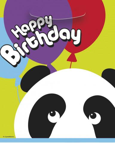 8 Sacs cadeaux Panda