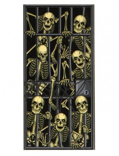 Poster squelettes emprisonnés Halloween