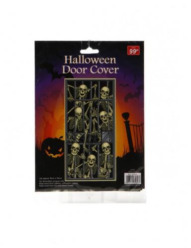 Poster squelettes emprisonnés Halloween-1