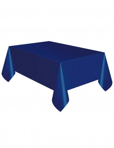 Nappe en plastique bleu marine 137 x 274 cm-1