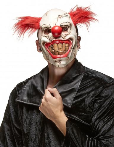 Masque clown méchant adulte Halloween