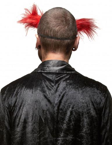Masque clown méchant adulte Halloween-1