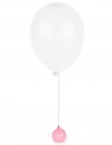 Poids ballon hélium rose 35 g-1