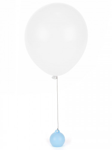 Poids ballon hélium bleu ciel 35 g-1