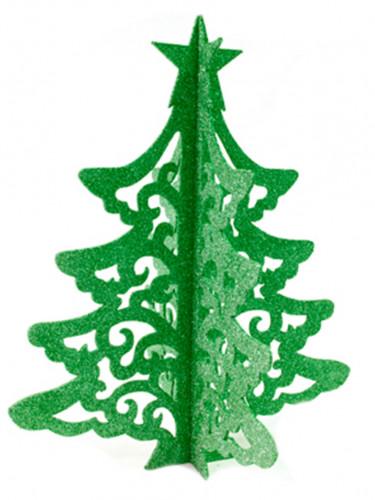 Décoration arbre de Noël vert 30 cm