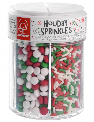 Boîte de 6 décorations en sucre de Noël