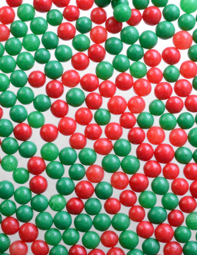Boîte de 6 décorations en sucre de Noël-4