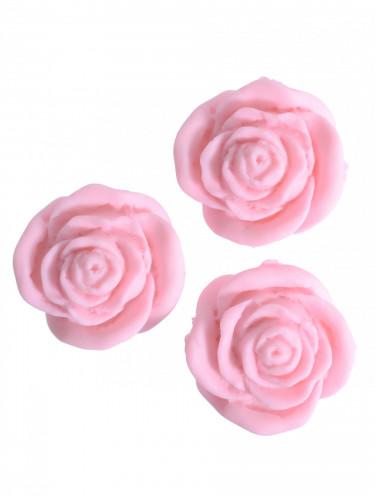 24 Petites roses en sucre