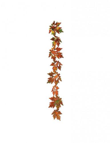 2 Guirlandes feuilles d'automne brillantes