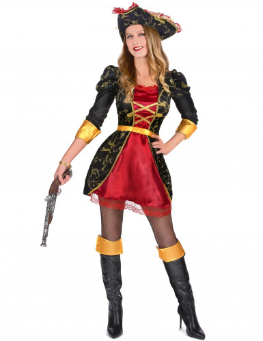 Déguisement pirate baroque luxe femme