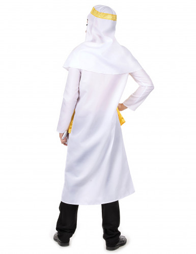 Coiffe de cheik arabe Sheikh blanc Coiffe arabe Keffieh deguisement costume fete