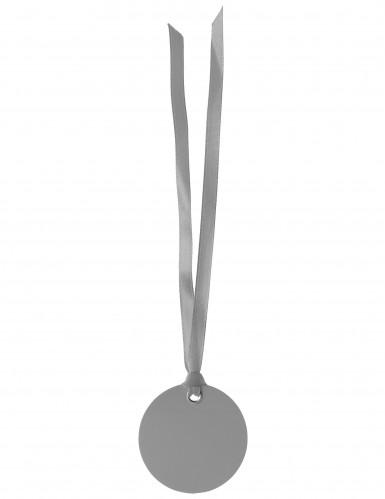 2 Marque-places ronds gris