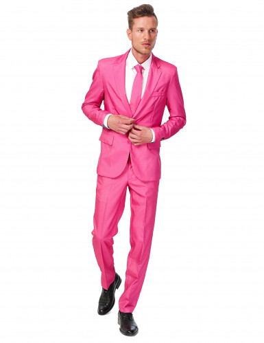 Costume Mr. Solid rose homme Suitmeister™